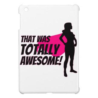 Funda Para iPad Mini Poder de la mujer del superhéroe