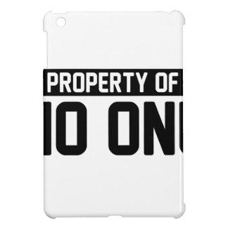 Funda Para iPad Mini Propiedad de nadie