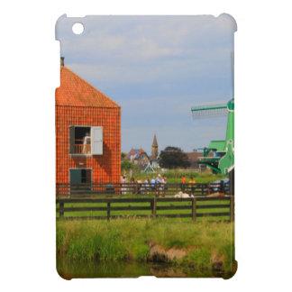 Funda Para iPad Mini Pueblo holandés del molino de viento, Holanda 4