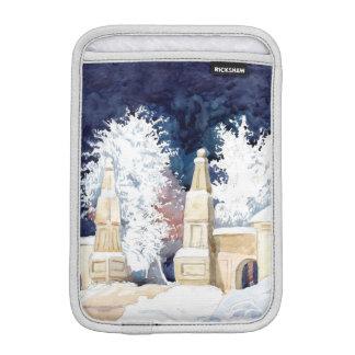 Funda Para iPad Mini Puerta del invierno en la noche