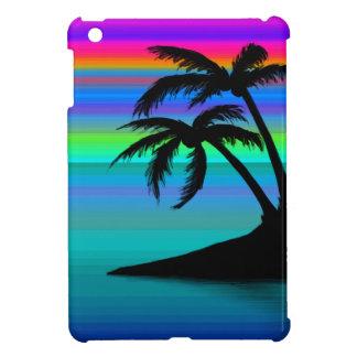 Funda Para iPad Mini Puesta del sol tropical de la isla