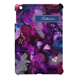 Funda Para iPad Mini Púrpura dramática del extracto de las tintas