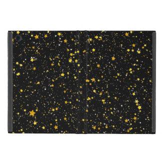 Funda Para iPad Mini Purpurina Stars3 - Negro del oro