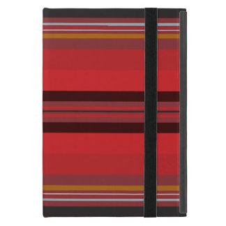 Funda Para iPad Mini Rayas - horizonte rojo