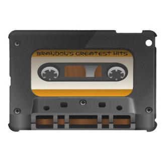 Funda Para iPad Mini Refresque la cinta mezclada retra personalizada
