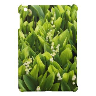 Funda Para iPad Mini Remiendo de la flor del lirio de los valles