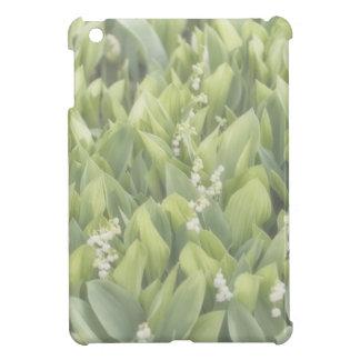 Funda Para iPad Mini Remiendo de la flor del lirio de los valles en