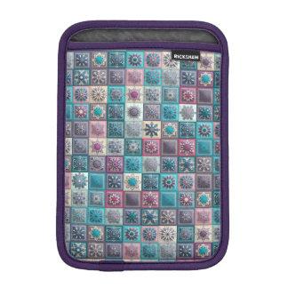 Funda Para iPad Mini Remiendo del vintage con los elementos florales de
