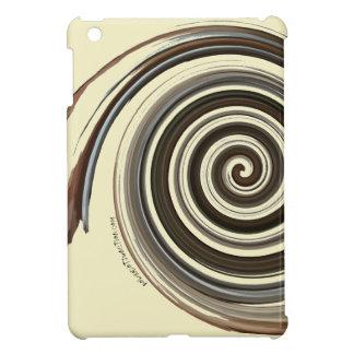 Funda Para iPad Mini Remolino del café