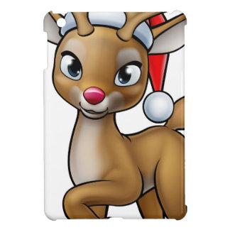 Funda Para iPad Mini Reno del navidad del dibujo animado que lleva el