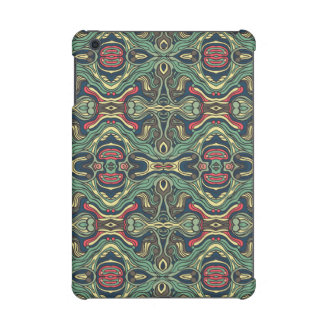Funda Para iPad Mini Retina Diseño rizado dibujado mano colorida abstracta del