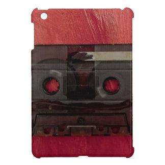 Funda Para iPad Mini Rojo del vintage de la música de la cinta de