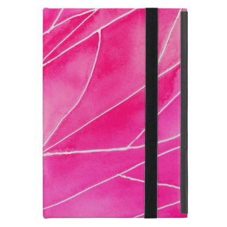 Funda Para iPad Mini Rotura del Watercolour de las rosas fuertes