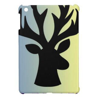 Funda Para iPad Mini Sea sombra valiente de la cabeza de los ciervos