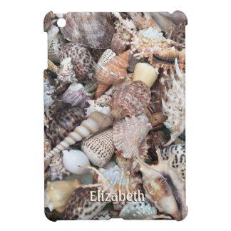 Funda Para iPad Mini Seashell exótico y nombre
