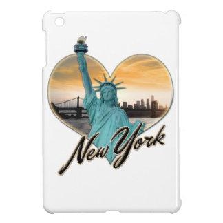 Funda Para iPad Mini Señora Liberty del recuerdo del horizonte de NYC
