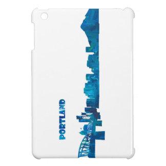 Funda Para iPad Mini Silueta del horizonte de Portland