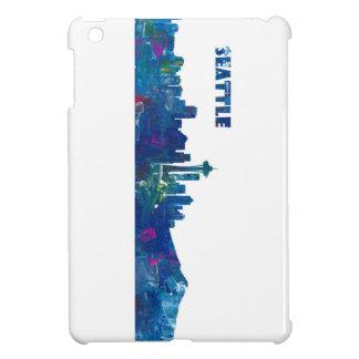 Funda Para iPad Mini Silueta del horizonte de Seattle