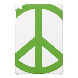 Funda Para iPad Mini Símbolo verde del signo de la paz