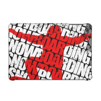 Funda Para iPad Mini Snowboard #1 (blanca)