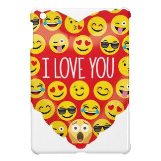 Funda Para iPad Mini Sorprender te amo el regalo de Emoji