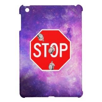 Funda Para iPad Mini su hora de parar la galaxia franca asquerosa de la