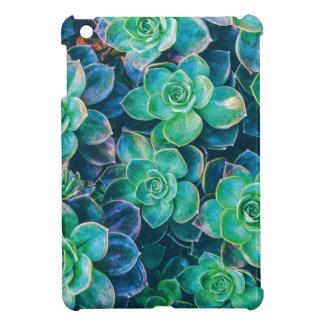Funda Para iPad Mini Succulents, Succulent, cactus, cactus, verde,