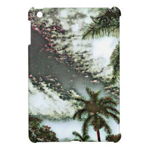Funda Para iPad Mini Sueño tropical de la puesta del sol de la palma