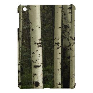 Funda Para iPad Mini Textura de un retrato del bosque