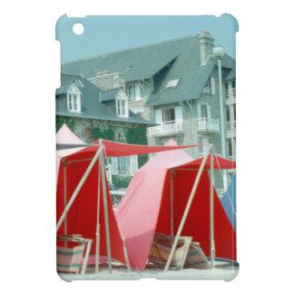 Funda Para iPad Mini Tiendas en la playa en Bretaña, Francia