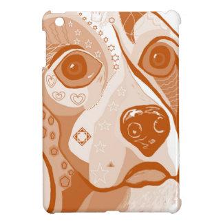 Funda Para iPad Mini Tonos de Brown del beagle