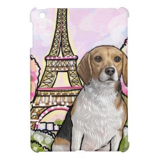Funda Para iPad Mini torre Eiffel París del beagle