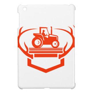 Funda Para iPad Mini Tractor de la asta de los ciervos de la cola