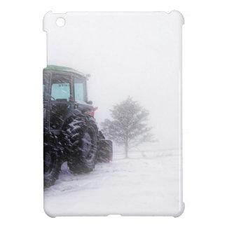Funda Para iPad Mini Tractor grande en nieve