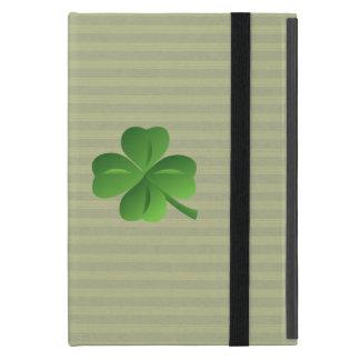 Funda Para iPad Mini Trébol afortunado irlandés de moda con clase