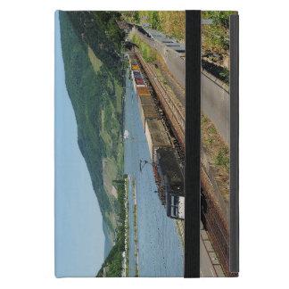 Funda Para iPad Mini Tren de carga en Assmanshausen a la rin