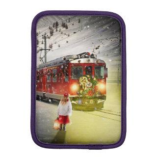 Funda Para iPad Mini Tren expreso de santa del Polo Norte - el navidad