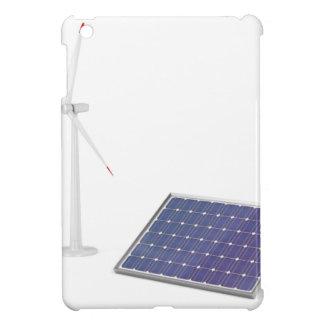 Funda Para iPad Mini Turbina de viento y el panel solar