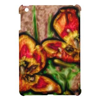 Funda Para iPad Mini Un bosquejo del dúo del Tulipa