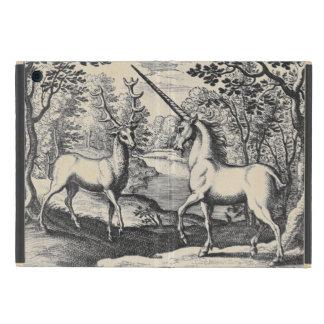 Funda Para iPad Mini Unicornio en el bosque