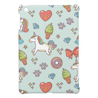 Funda Para iPad Mini Unicornio mágico lindo