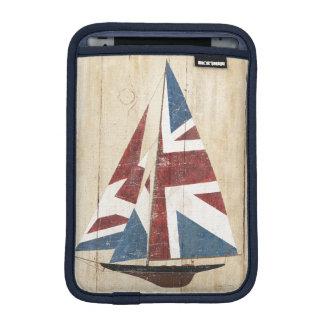 Funda Para iPad Mini Velero británico de la bandera