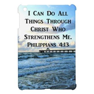 FUNDA PARA iPad MINI VERSO PRECIOSO DE LA BIBLIA DEL 4:13 DE LOS