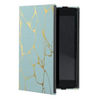 Funda Para iPad Mini vetee, acuñe, oro, moderno, de moda, hermoso,
