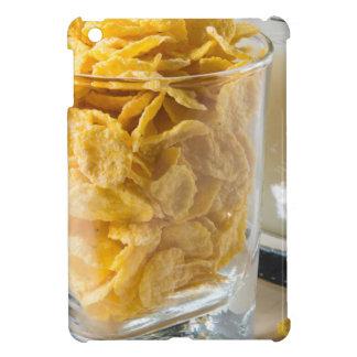 Funda Para iPad Mini Vidrio de cereal seco y un vidrio de leche