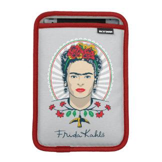 Funda Para iPad Mini Vintage de Frida Kahlo el   floral