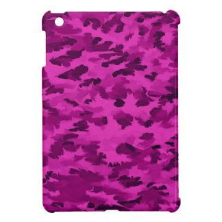 Funda Para iPad Mini Violeta abstracta del arte pop del follaje