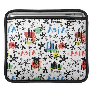 Funda Para iPad Modelo de los símbolos de Asia el |