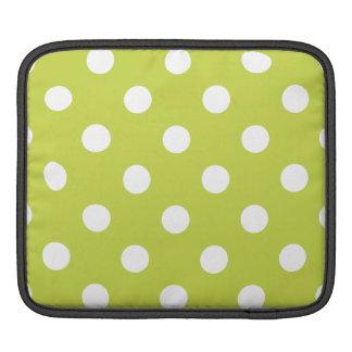 Funda Para iPad Modelo de lunar verde
