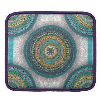 Funda Para iPad Modelo floral étnico abstracto colorido de la